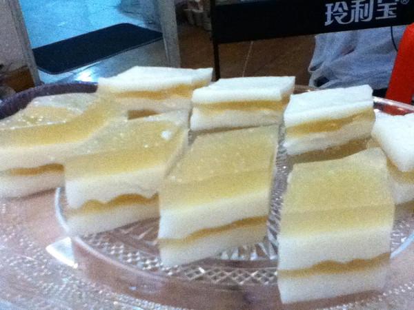 椰汁马蹄QQ千层糕的做法