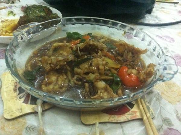 香辣干锅牛蛙的做法