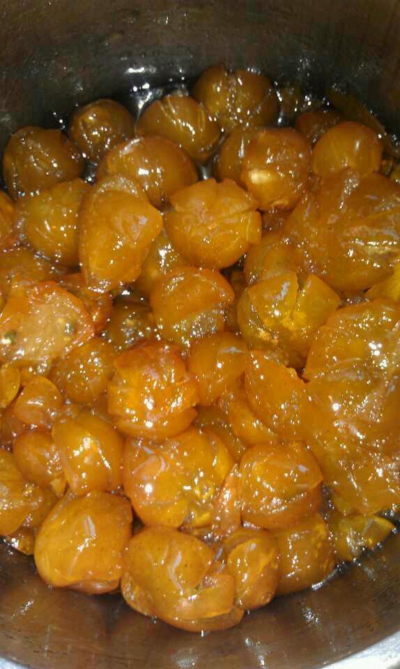 糖渍金桔的做法