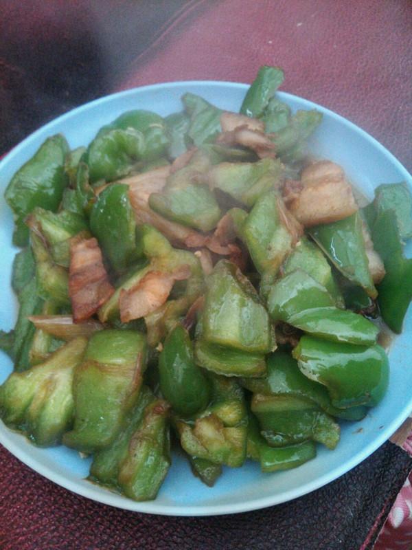 肉炒青椒的做法