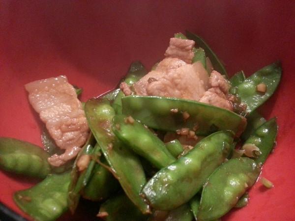 扁豆小炒肉的做法