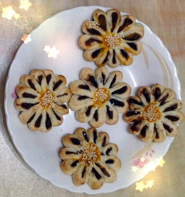 自制菊花酥的做法