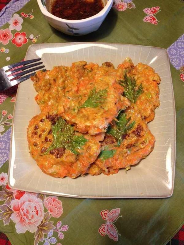 蔬菜豆渣饼的做法