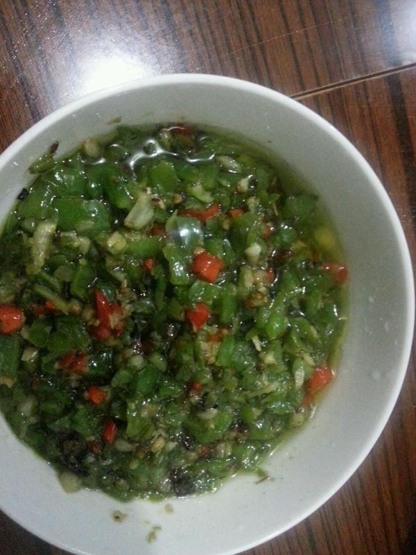 超级下饭菜---素椒的做法