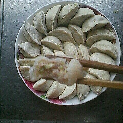 白菜瘦肉饺子的做法