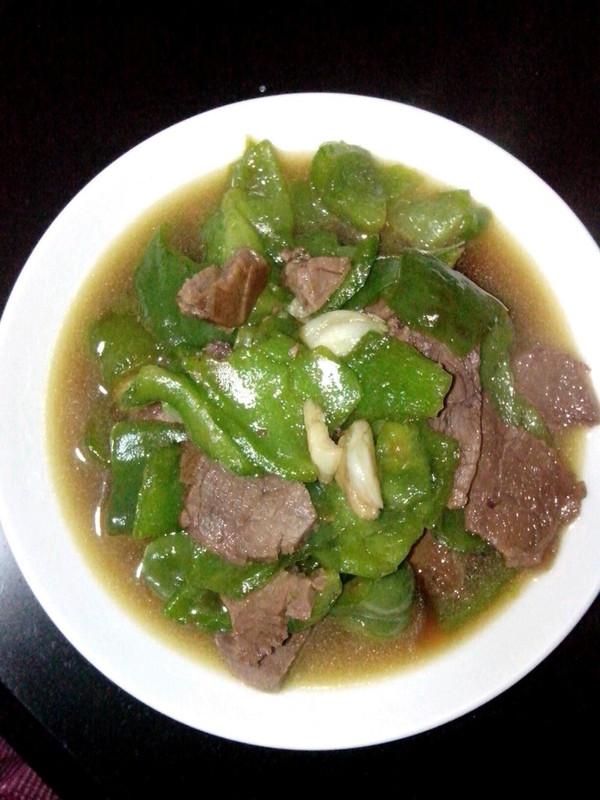 黑椒炒牛肉的做法