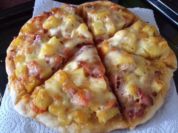 香辣培根披萨的做法