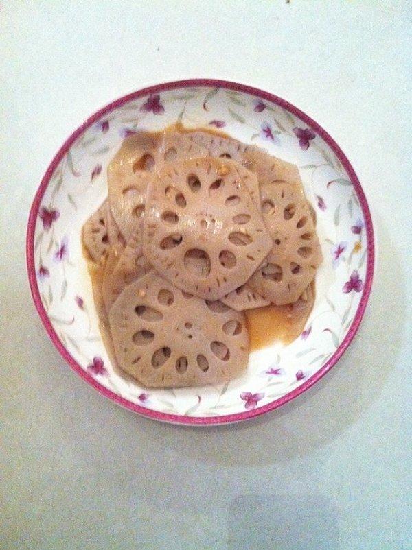 凉拌藕片的做法