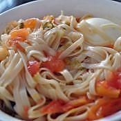 简单好吃:西红柿面的做法