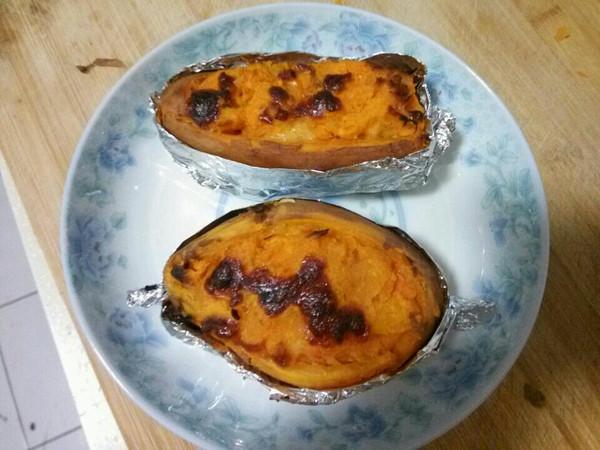 焗烤地瓜的做法