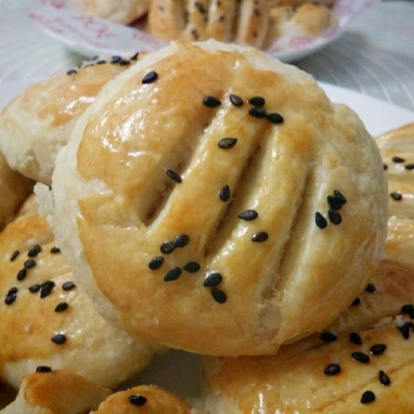 榴莲酥饼的做法