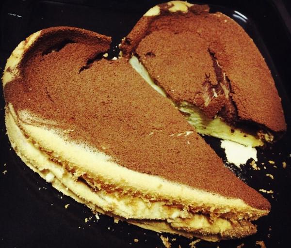 大理姑娘:大理石戚风蛋糕的做法