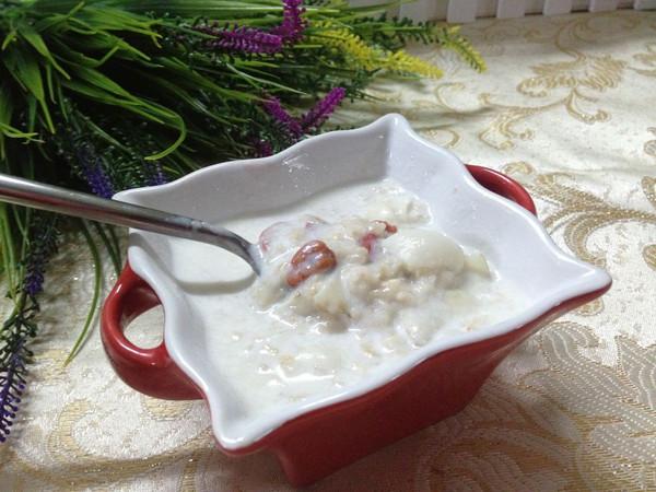 牛奶燕麦片的做法