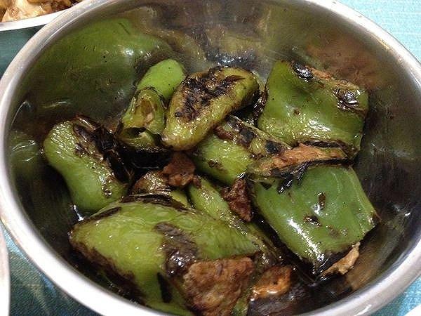 青椒酿肉的做法