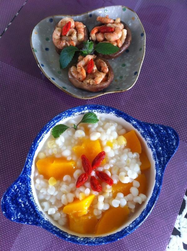 虾仁酿香菇的做法