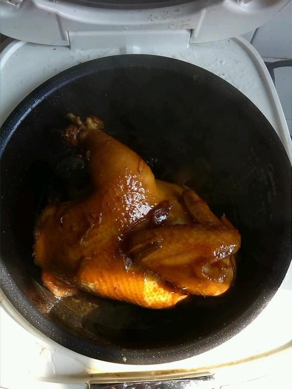 豉油鸡的做法