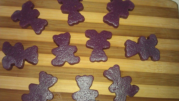 紫薯糯米小丸子的做法