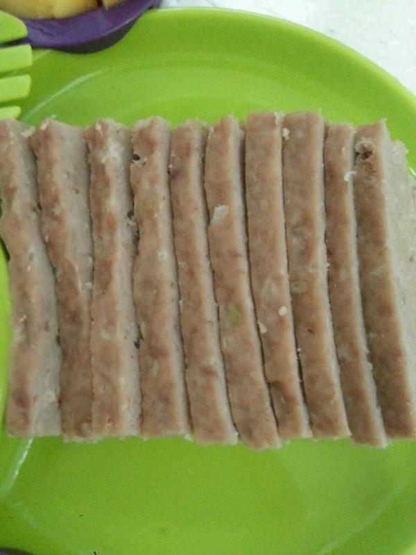 午餐肉(蒜香味)的做法