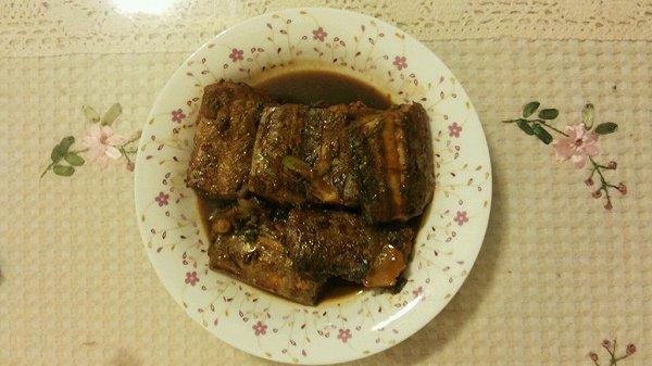 小朋友爱吃的下饭红烧带鱼的做法