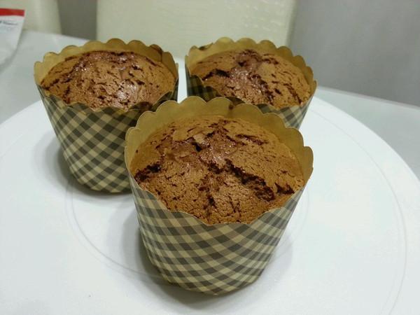 全蛋 零失误 巧克力 纸杯蛋糕的做法