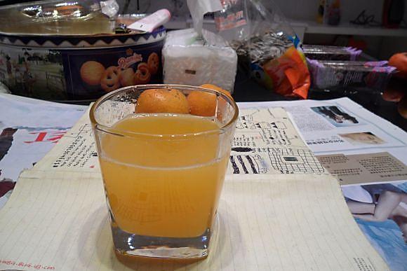 鲜榨橙汁的做法