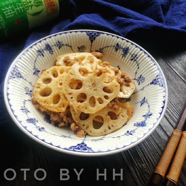 肉沫藕片#厨此之外,锦享美味#的做法