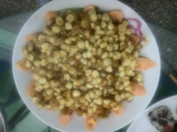 蛋黄玉米的做法