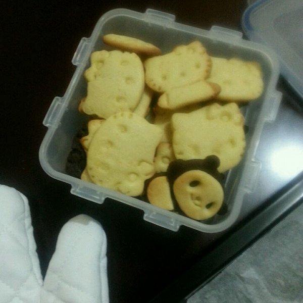 【小熊猫饼干】的做法