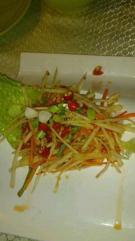 泰式凉拌青木瓜丝的做法