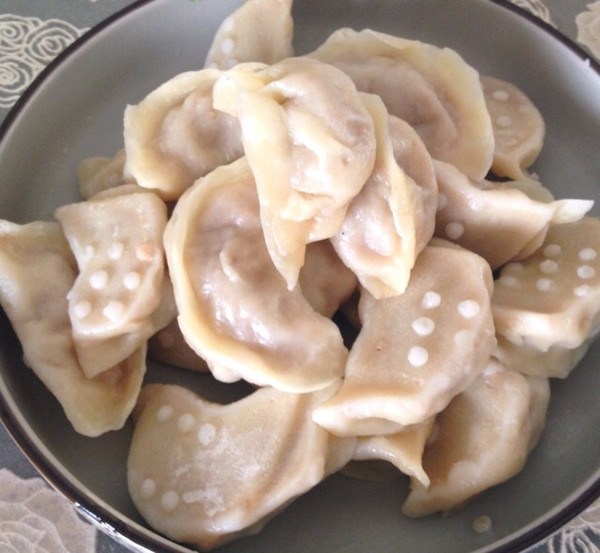 白菜鲜肉蒸饺的做法