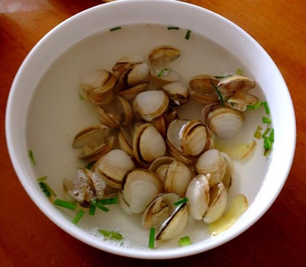 冬瓜蛤蜊汤的做法