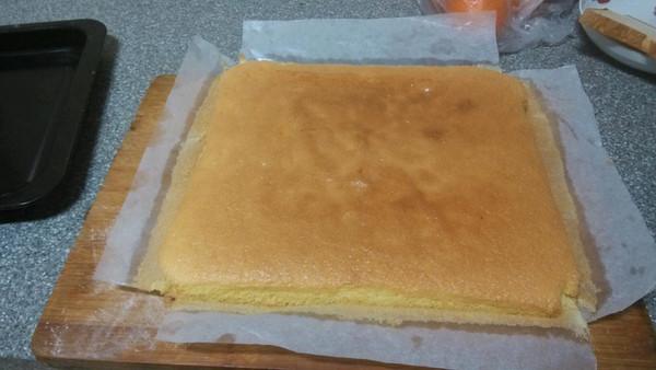 海绵蛋糕(8寸)的做法