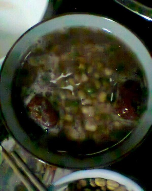 瘦身减肥养生美容红豆汤  月瘦20斤的做法