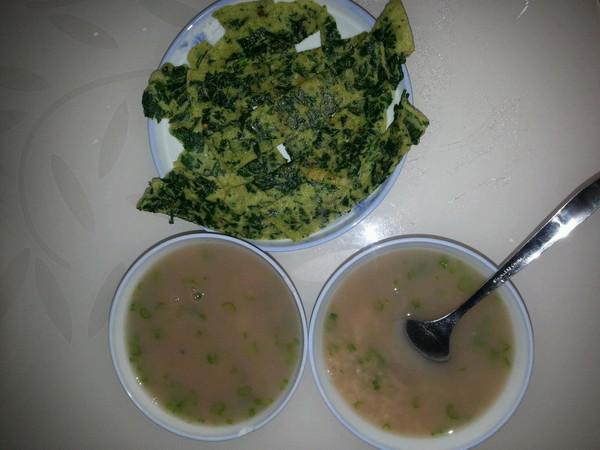 山药猪肝西芹粥的做法