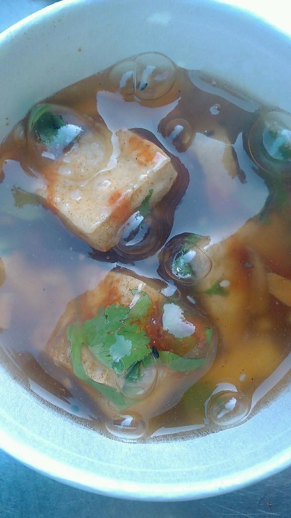 酿油炸臭豆腐的做法
