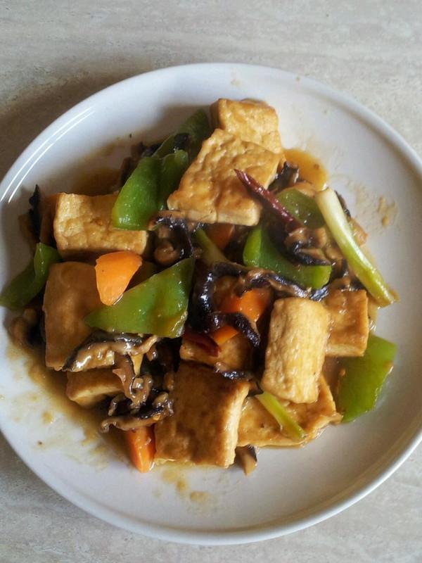 香菇豆腐的做法