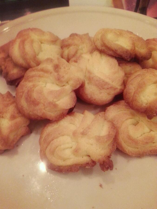 奶香曲奇饼干的做法