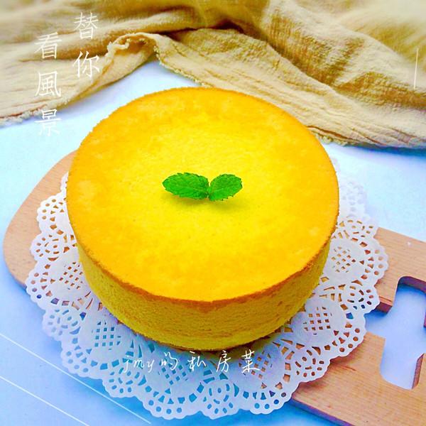 六寸戚风蛋糕~超详细版的做法