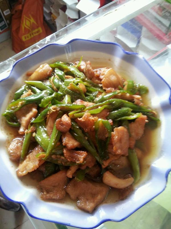 经典的家常菜---青椒炒肉丝的做法