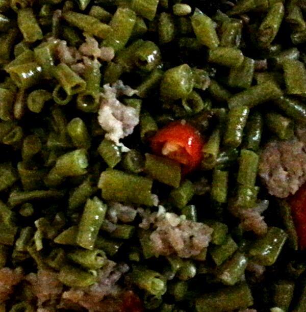 烂肉豇豆的做法