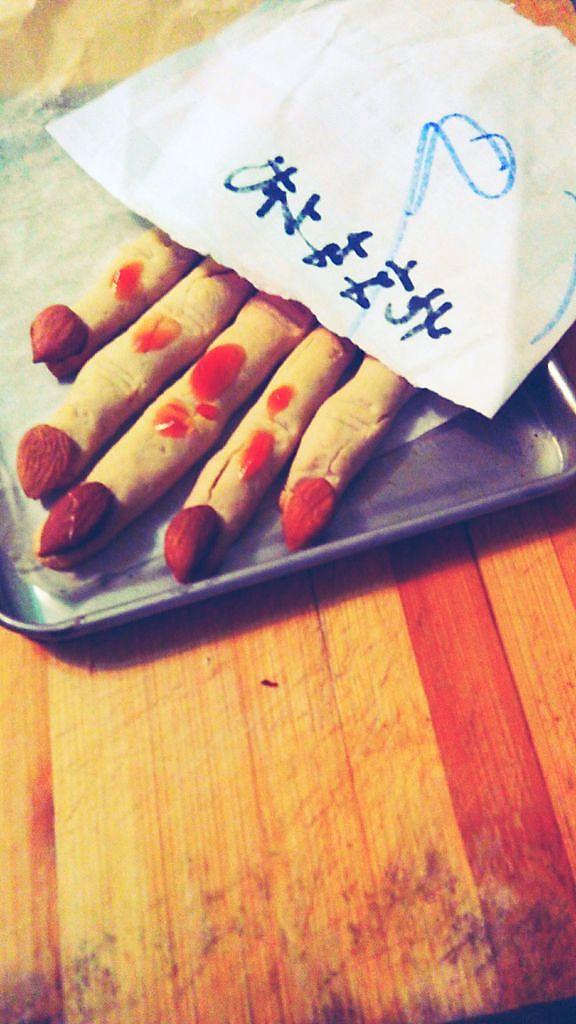 女巫手指饼干的做法