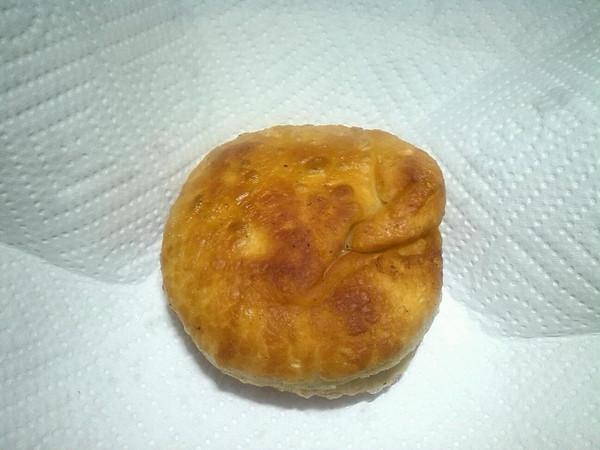 培根葱油饼的做法