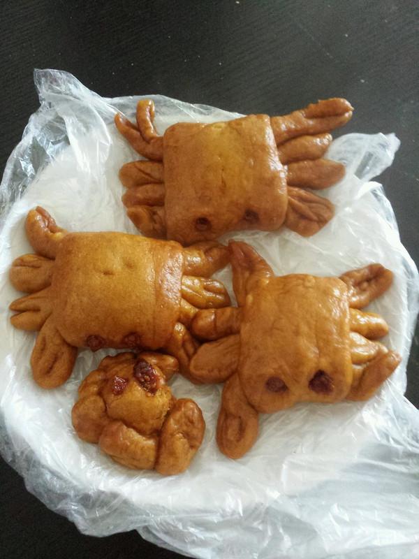 螃蟹南瓜包的做法