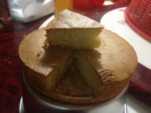 耐嚼蜂蜜蛋糕(6寸)的做法