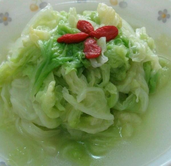 翡翠白菜的做法