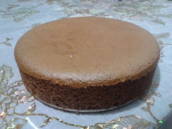 巧克力蛋糕图解的做法