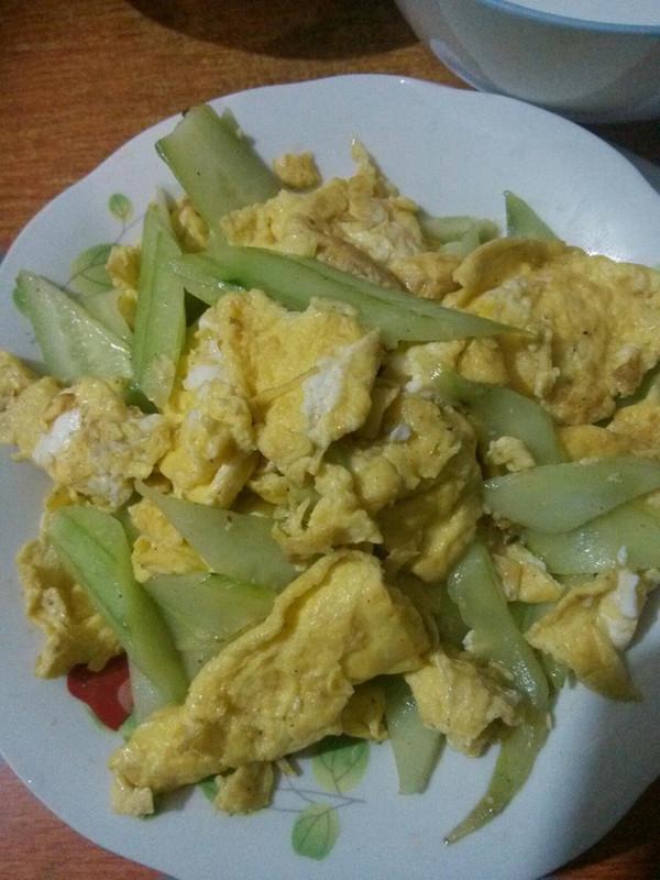 鸡蛋炒黄瓜的做法