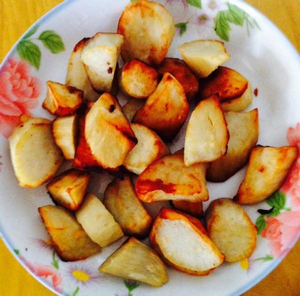 炒红薯的做法