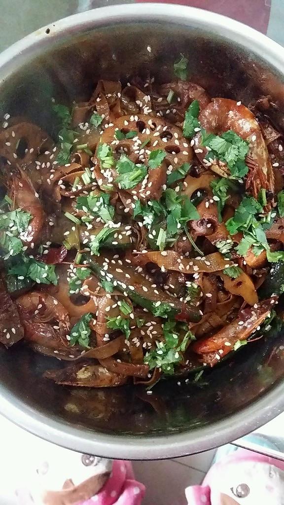 麻辣干锅虾的做法