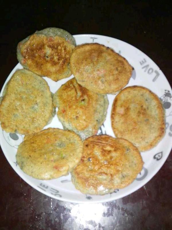 能量早餐:黑豆浆+葱花豆渣饼的做法